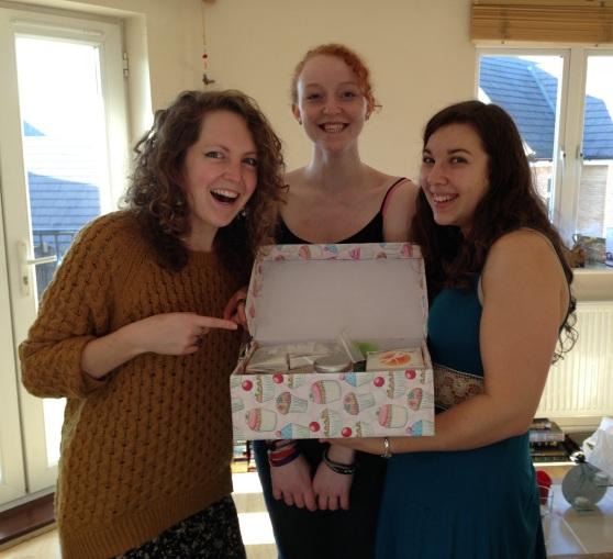 Zoe's tea box